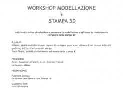 CORSO DI FORMAZIONE DI STAMPANTE 3D