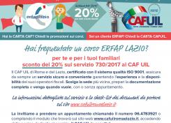 ERFAP LAZIO + CAF UIL