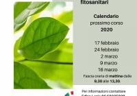 Nuovo calendario 2020 per il corso del patentino per fitosanitari