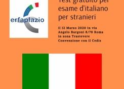 Test gratuito per l'esame d'italiano per stranieri